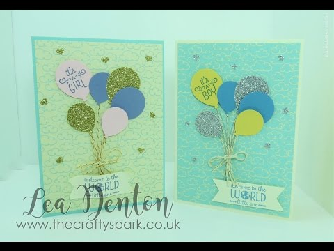 2 Super Simple Speedy Cards - Baby Boys and Baby Girls