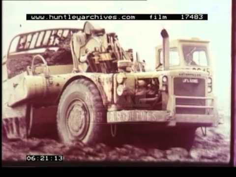 Open Cast Mining 1970s Film 17483