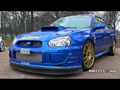 500HP Subaru Impreza STi Turbo Anti-Lag Backfiring!!
