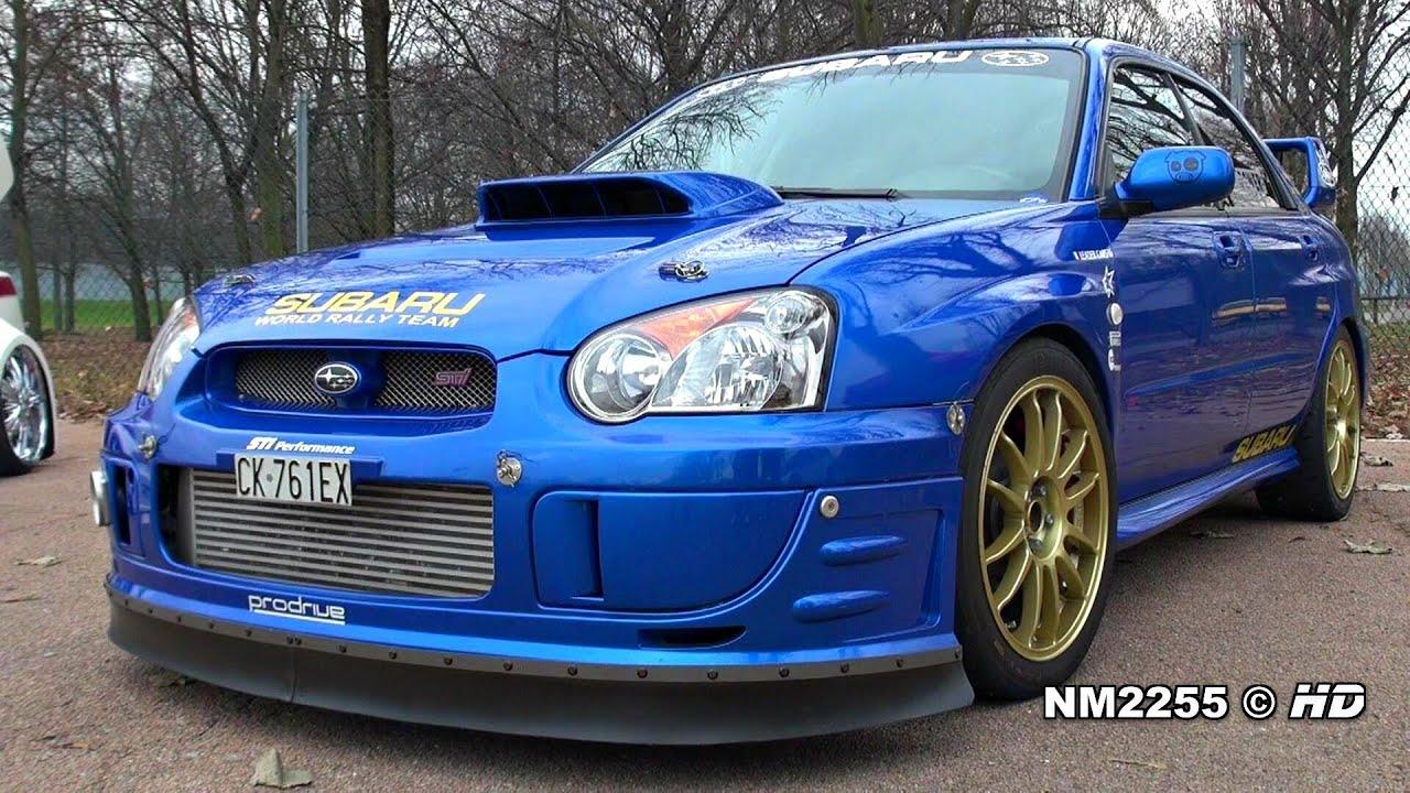 500hp Subaru Impreza Sti Turbo Anti Lag Backfiring
