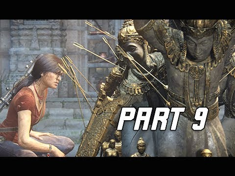 UNCHARTED THE LOST LEGACY Walkthrough Part 9 - FATHER'S LEGACY (PS4 Pro Let's Play Commentary)