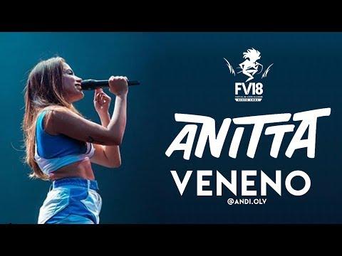 Anitta - Veneno - Festival De Verão Salvador 2018