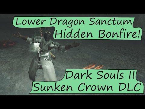 Crown of the Sunken King Hidden Bonfire: Third Dragon's Sanctum Bonfire - Dark Souls 2 DLC