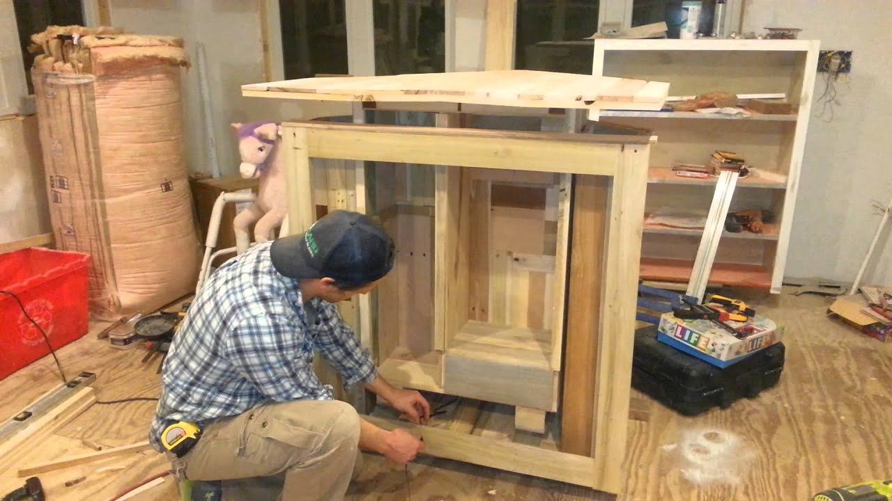 Cupboards Made From Pallets Pallet Cabinet Goes Up Pallet Cabinet Goes Down Its Up To You