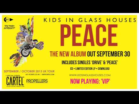 Kids In Glass Houses - Peace (FULL ALBUM STREAM)