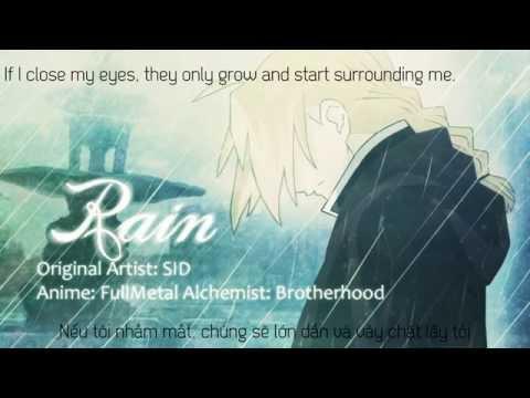Rain English   Fullmetal Alchemist Brotherhood Vietsub