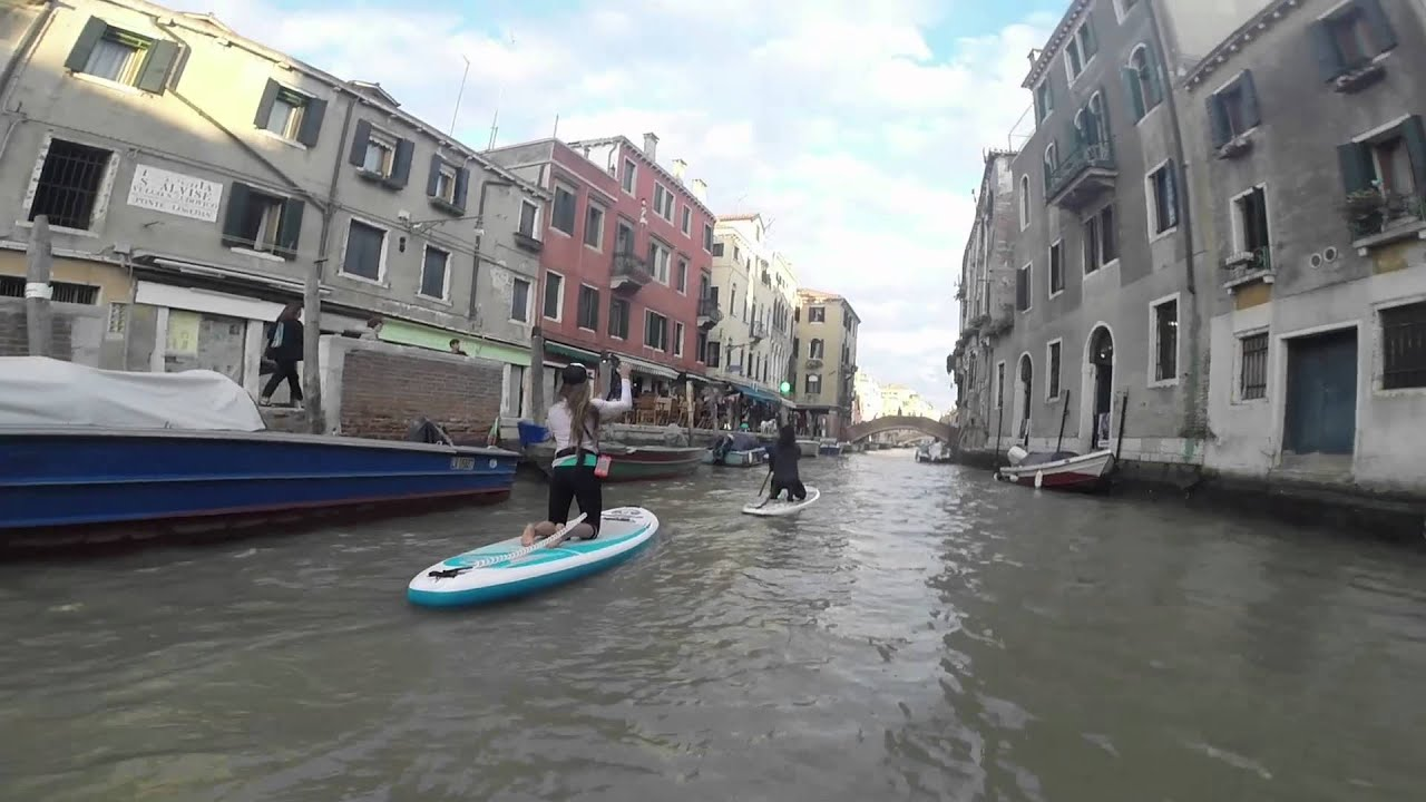 Sup in Venice - YouTube