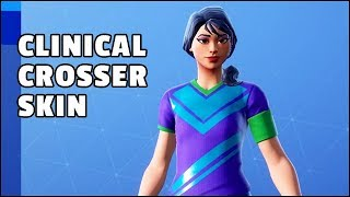 Fortnite Clinical Crosser Skin Review (32 Countries Rare Soccer Outfit) - Item Shop Today
