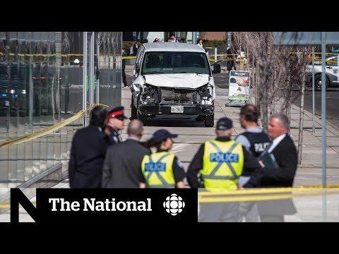 Van attack in Toronto leaves at least 10 dead