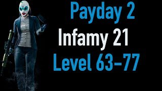 Payday 2 Infamy 21 | Part 2 | Level 63-77 | Xbox One