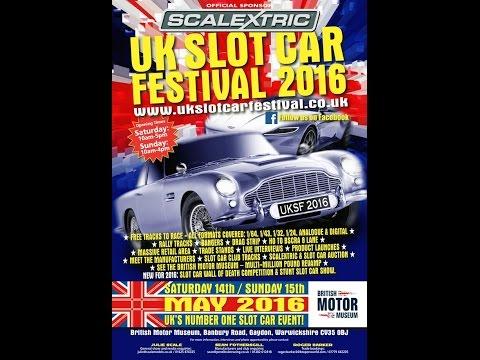 UK Slot Car Festival Gaydon 2016