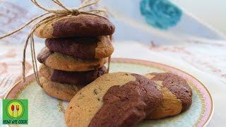 Печенье шоко Короткий видео рецепт How we cook Choco Biscuit easy and tasty recipe