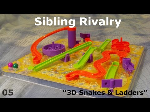 Sibling Rivalry - Episode 05 - 3D Snakes & Ladders