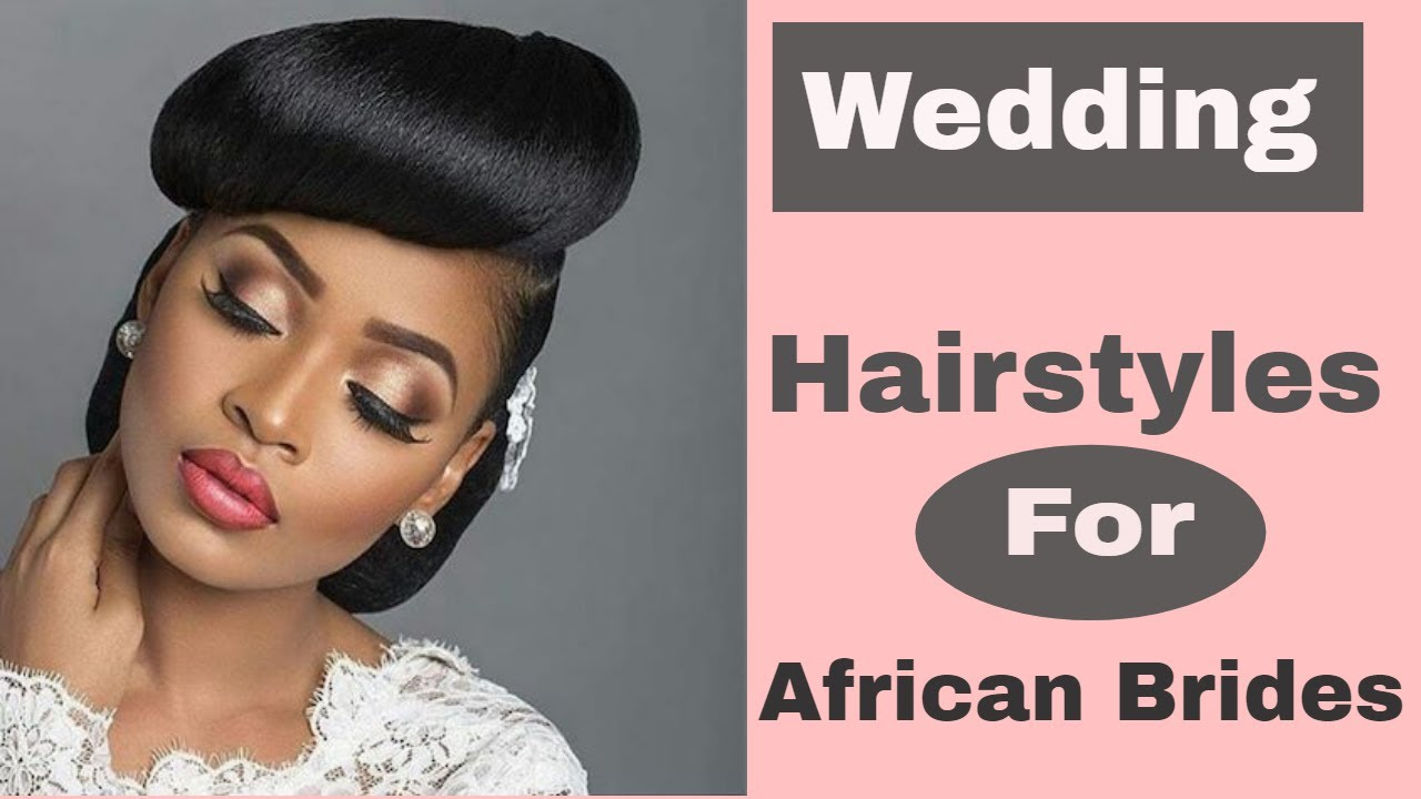 Wedding Hairstyles For Black African American Brides With