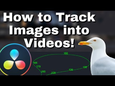 How to Track an Image Onto a Video in Resolve 16