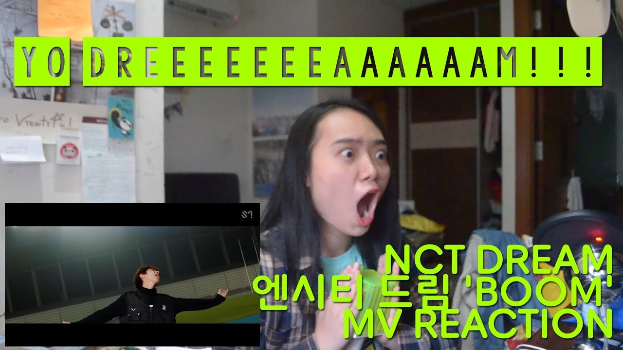 NCT DREAM 엔시티 드림 'BOOM' MV REACTION (INA) [ALL HAIL DREAMIES]