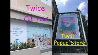트와이스 TWICE Twaii Popup Store Full Tour  Merchandise