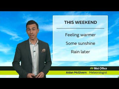Saturday morning forecast 14/04/18