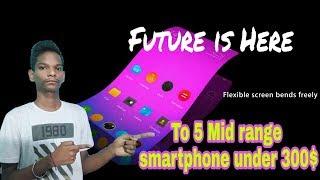Top 5 Midrange smartphone  under 300 $ by Kumar Gaurav