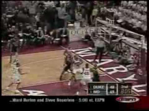 Maryland vs. Duke 2002 @ Cole Field House