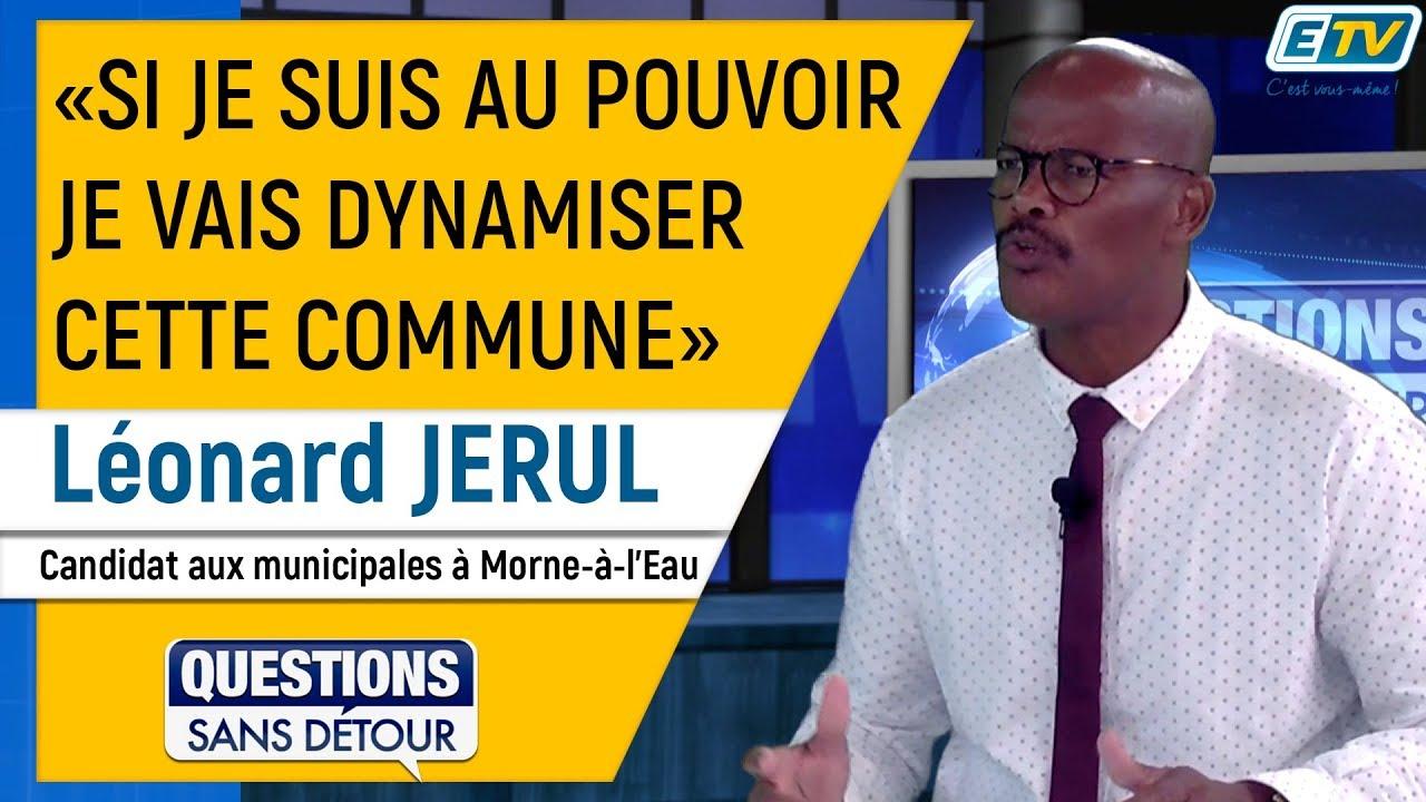 Questions Sans Détour avec Léonard JERUL