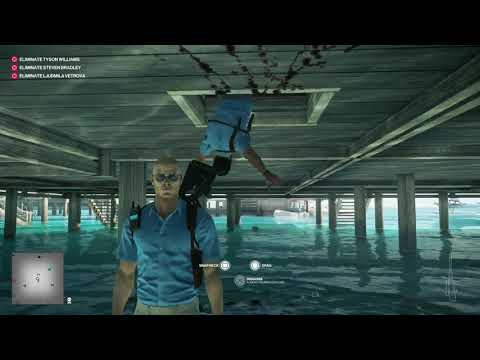 Hitman 2 Glitch -  Spinning Around