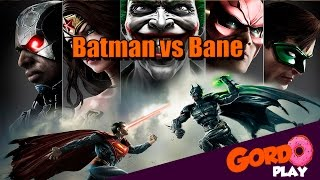 Injustice Gods Among us - Batman vs Bane - Gordoplay | Canal do Gordo