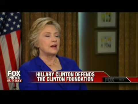 Clinton Continues To Defend Family Foundation When Confronted With Foreign Donations