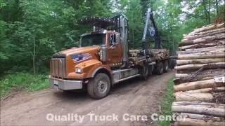 Western Star 4900SB Log Truck - Quality Truck Care Center