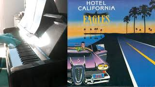 Eagles Hotel California with guitar solo - Piano Solo sheet music available.mp3