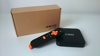 NEXBOX Z68 TV Box with 4K support powered by Rockchip RK3368 Unboxing (Video)