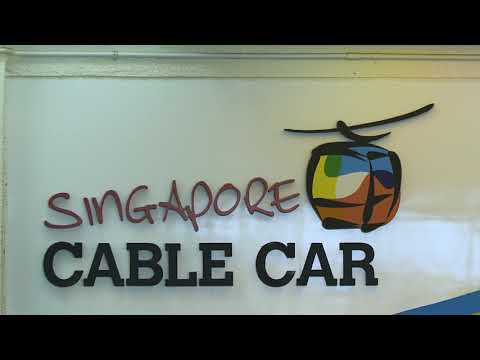 "Doppelmayr/Garaventa 8-MGDs ""Singapore Cable Car"" & ""Intra Island Cableway"" Singapur (2010&2015)"