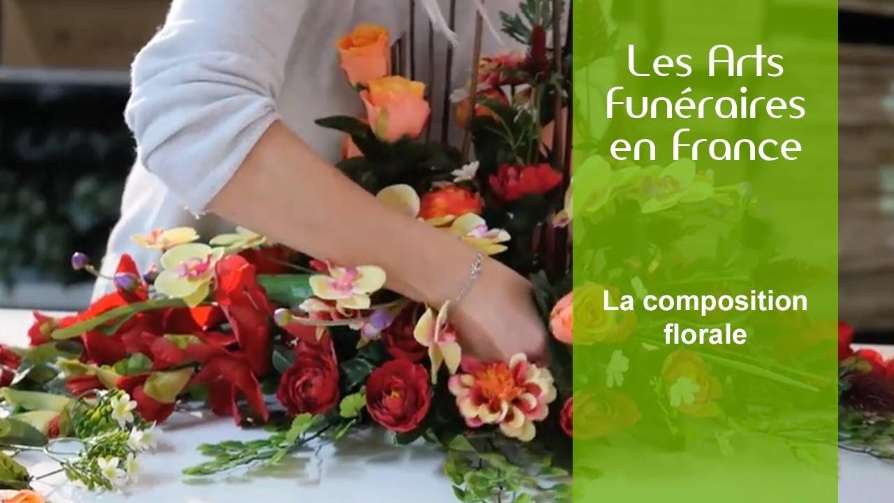 Favori Les arts funéraires en France : La composition florale - YouTube KQ97