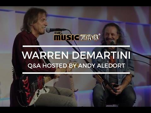 Warren DeMartini of RATT Q&A At The Music Zoo