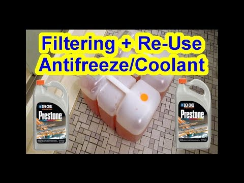 Reusable Antifreeze Coolant - Do not throw it away - Filteri