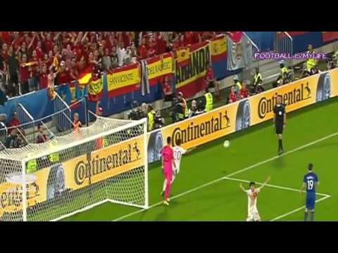 「サッカーユーロ 2016」スペイン vs クロアチア 1   2 ハイライト HD