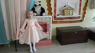 Светлана Посаженникова на конкурс Читаем стихи