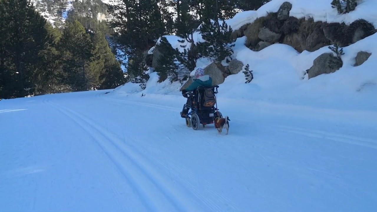 Rodando por la nieve