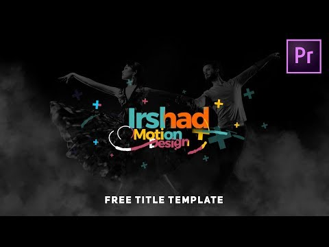 Free Dynamic Title Preset Premiere Pro Essential Graphic Template - Premiere pro motion graphics templates