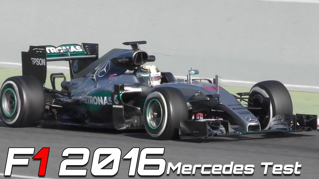 formula 1 2016 mercedes sound - hamilton vs rosberg (f1 barcelona