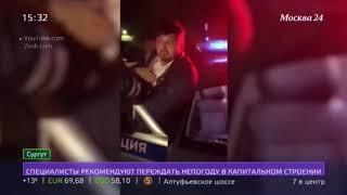 Нетрезвый гонщик-батюшка арестован на 15 суток