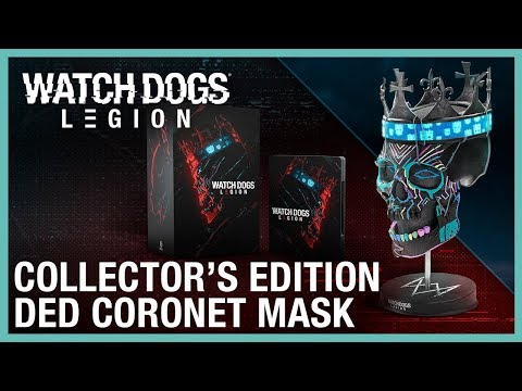 Watch Dogs Legion Collector S Edition Ded Coronet Mask Ubisoft Na Youtube