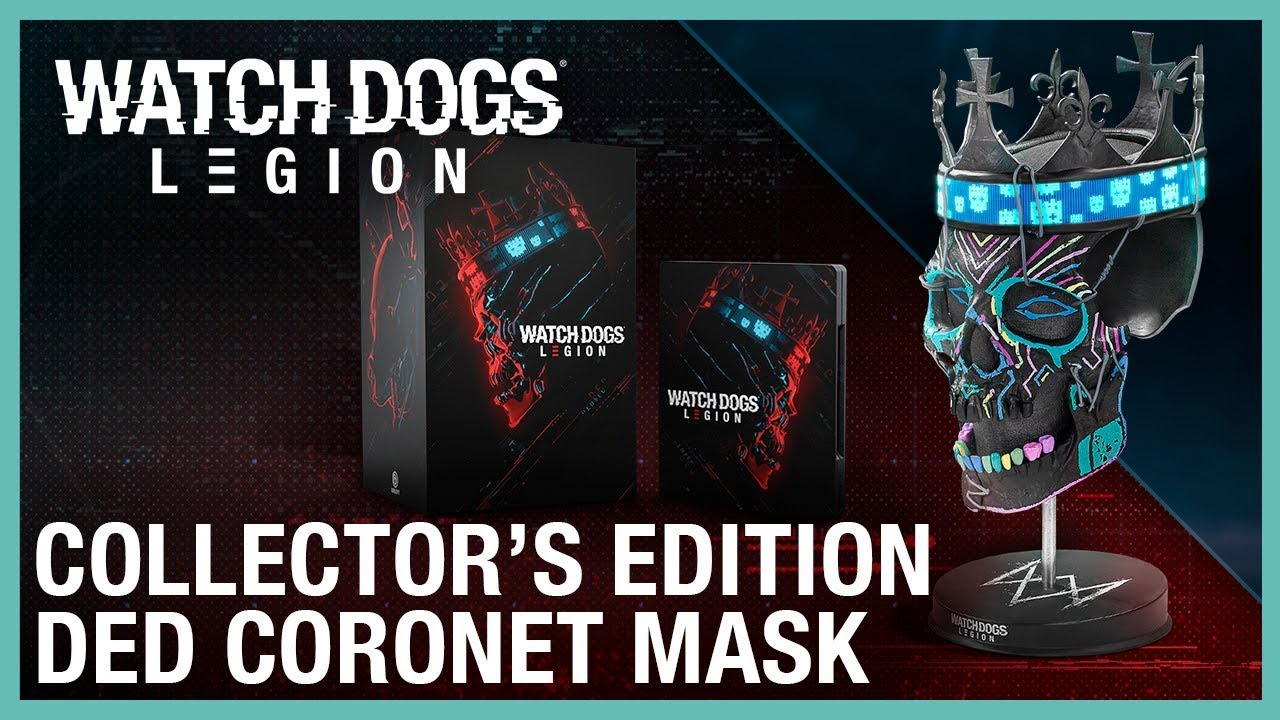 Watch Dogs: Legion: Collector's Edition Ded Coronet Mask | Ubisoft