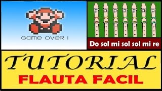 Super Mario Bros - Muerte en Flauta