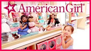 SCARLETT'S FIRST TIME AT AMERICAN GIRL PLACE NYC!