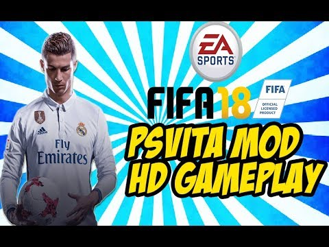 FIFA18 PSVITA MOD GAMEPLAY HD