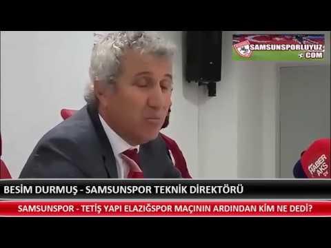 SAMSUNSPOR - TETİŞ YAPI ELAZIĞSPOR MAÇININ ARDINDAN KİM NE DEDİ