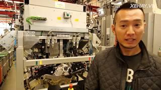Đột nhập nhà máy AMG xem lắp ráp động cơ bằng tay như thế nào   XE HAY