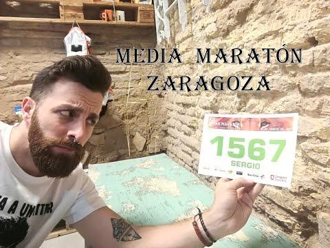 Unboxing bolsa corredor Media Maraton Zaragoza