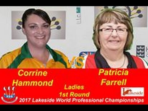 2017 BDO World Darts Championship Round 1 Hammond vs Farrell